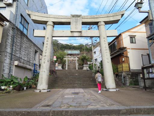 長崎諏訪神社第四個鳥居