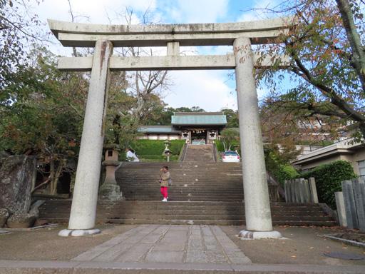 長崎諏訪神社第五個鳥居
