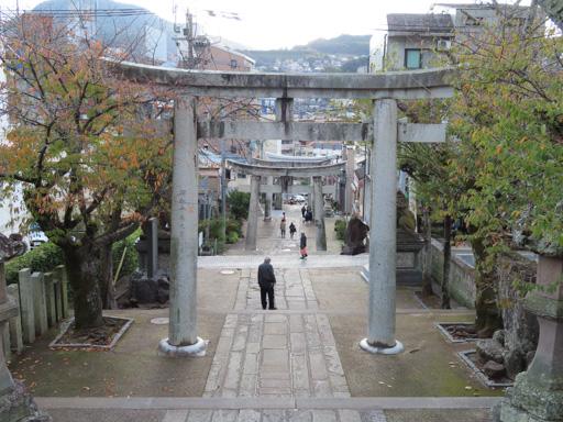 長崎諏訪神社鳥居