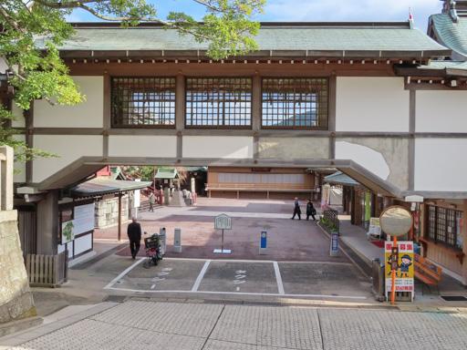 長崎諏訪神社山上出口