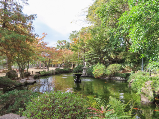 長崎公園‧日本最古の噴水