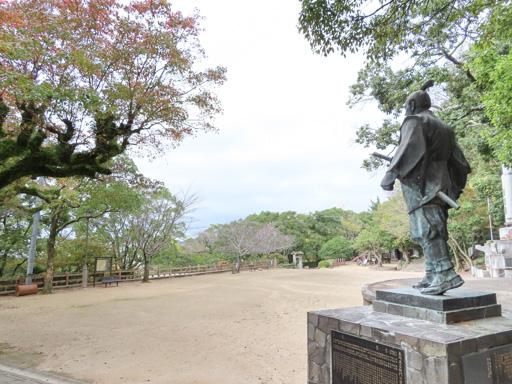 長崎公園‧長崎甚左衛門之像
