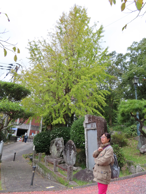 長崎 山のサンタ・マリア教会跡石碑
