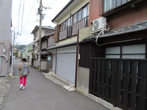 長崎市心田庵步行往諏訪神社
