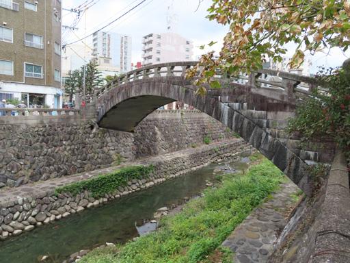 長崎中島川‧編笠橋