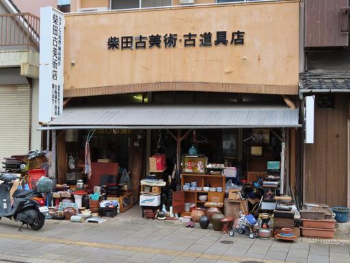 東新橋附近的古玩店