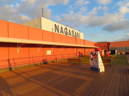 日本長崎國際機場‧3F瞭望台