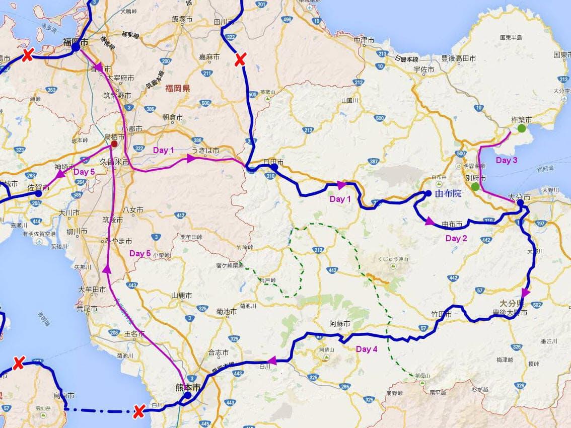北九州路線圖