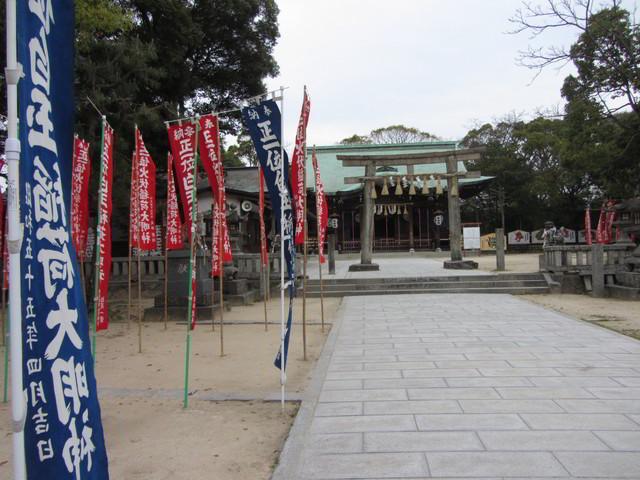 飛鳥酒店步行往曳山展示場、唐津神社