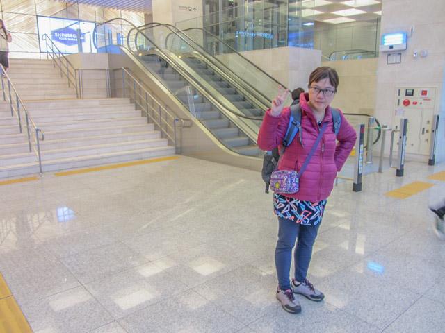 韓國大邱市 東大邱地鐵站置物箱櫃