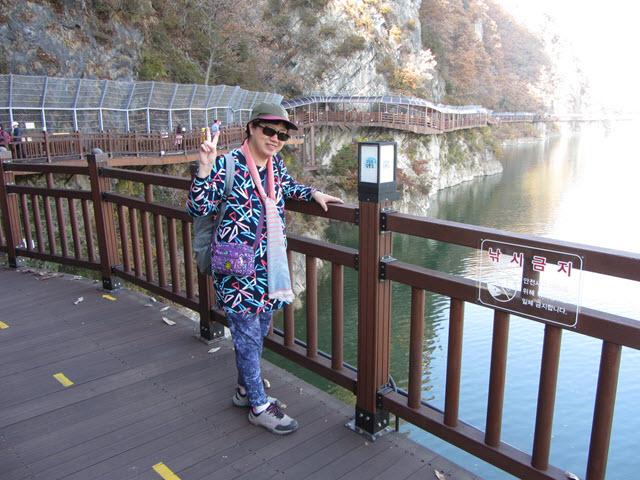 丹陽南漢江棧道
