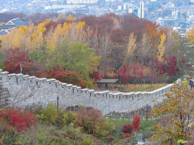 駱山公園 首爾城郭