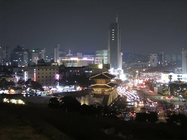 東大門璀璨夜景