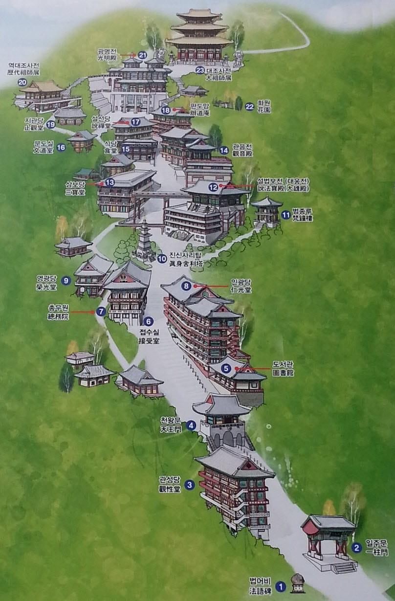 丹陽救仁寺地圖