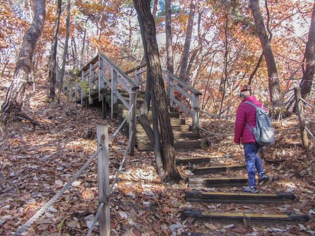 三清公園 北岳山 首爾城郭 馬岩站 登山路
