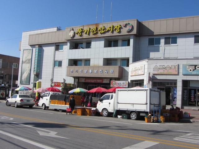 韓國榮州 豐基人參市場