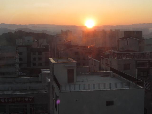 韓國榮州 日出