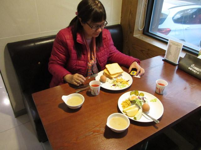 韓國榮州酒店 餐廳 自助早餐