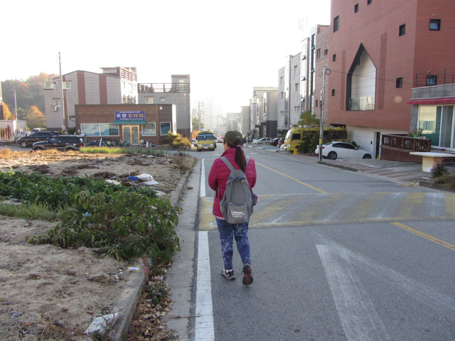 韓國榮州 早上街景