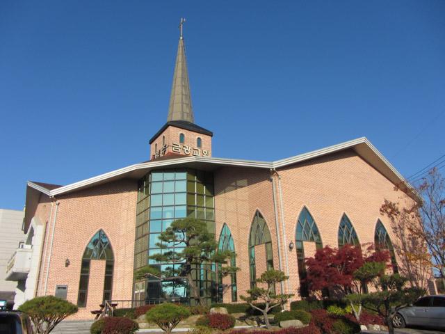 韓國榮州 영주금광교회 教堂