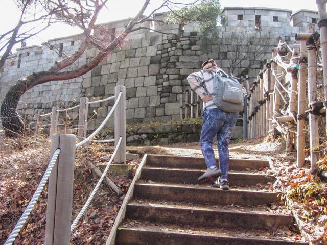 首爾城郭北岳山段