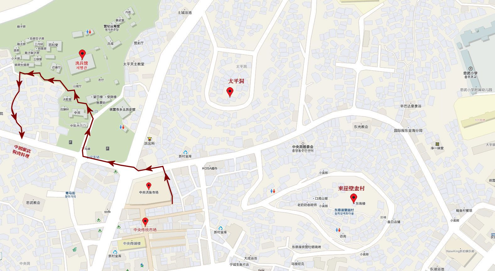 tongyeong-city-walk-route-map-01