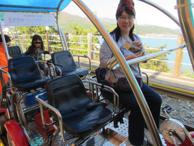 麗水海洋鐵道自行車