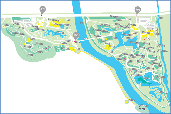 suncheon-bay-garden-gate-location-map