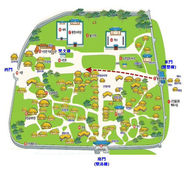 suncheon-naganeupseong-folk-village-map-1