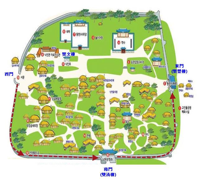 suncheon-naganeupseong-folk-village-map-3