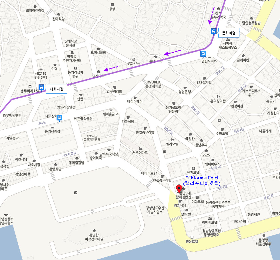 tongyeong-california-hotel-location-map-2