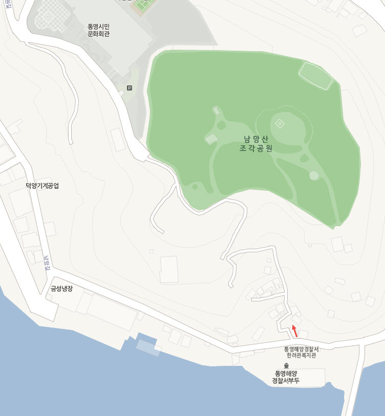 tongyeong-nammangsan-open-air-sculpture-park-map-2
