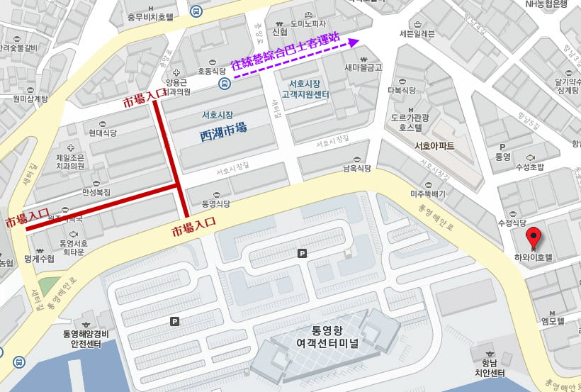tongyeong-seoho-market-location-map