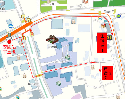 hotel-area-route