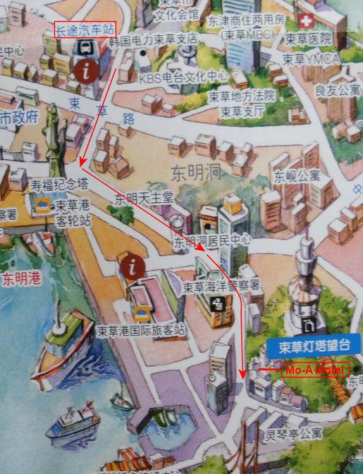 sokcho-hotel-map