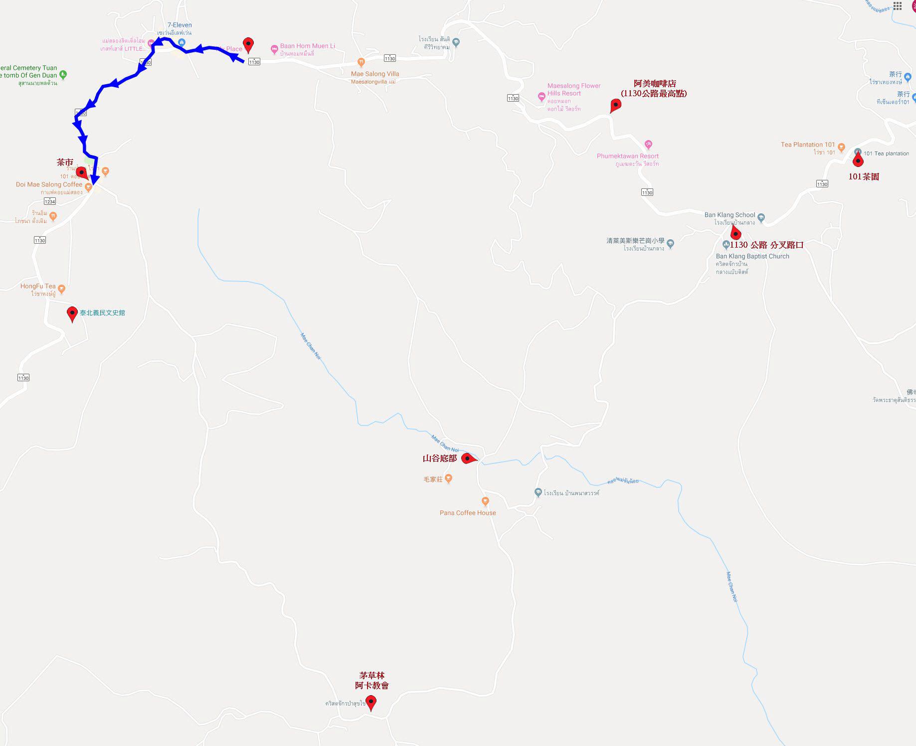 美斯樂攀山越谷遠足路線 第一段