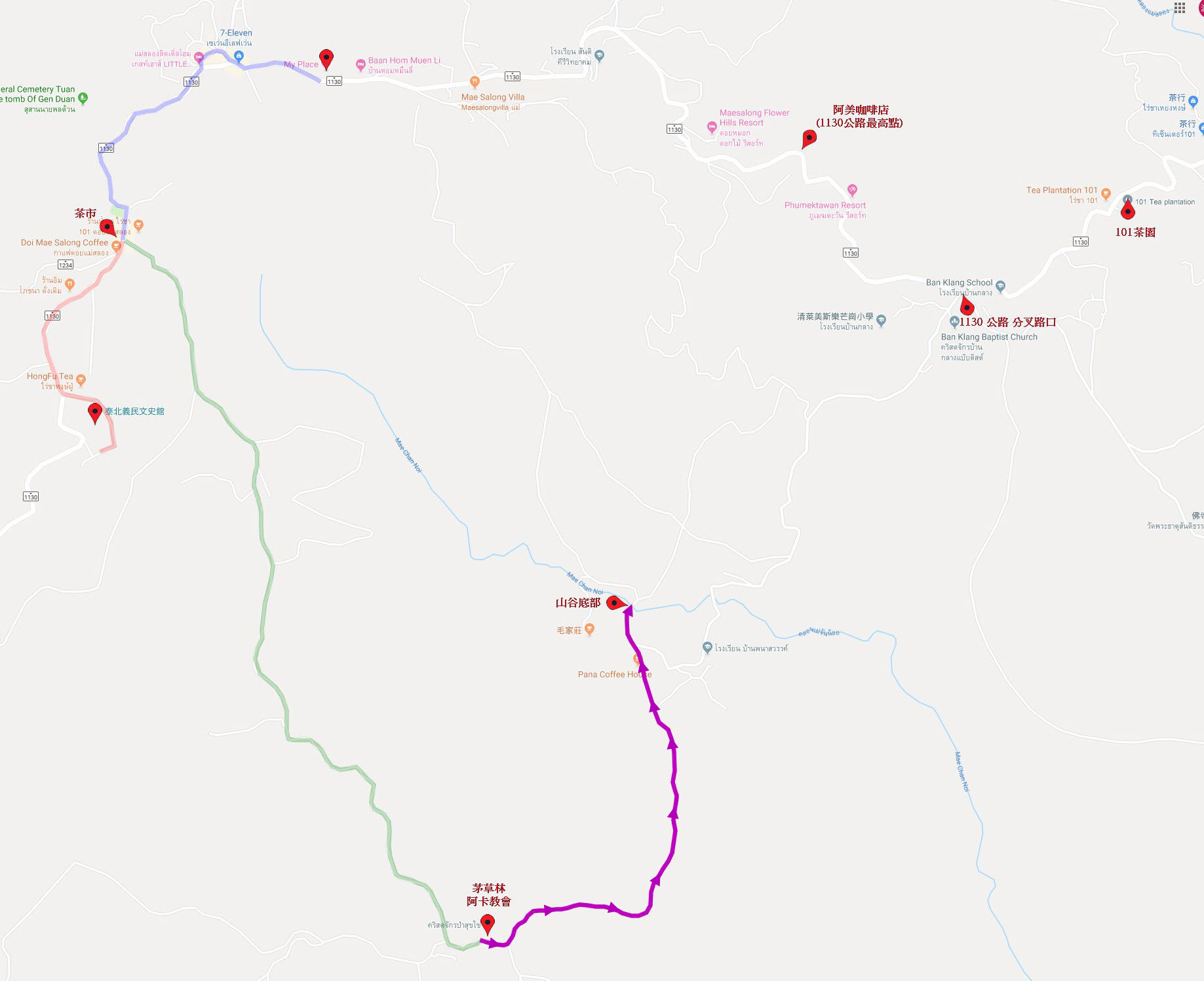 美斯樂攀山越谷遠足路線 第四段