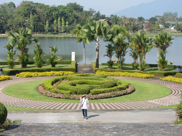 清萊Somdet Phra Park, Nong Bua 湖