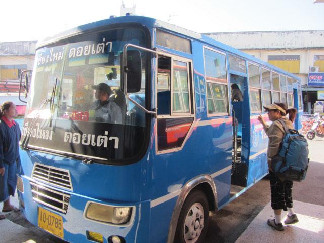 清邁市往宗通巴士