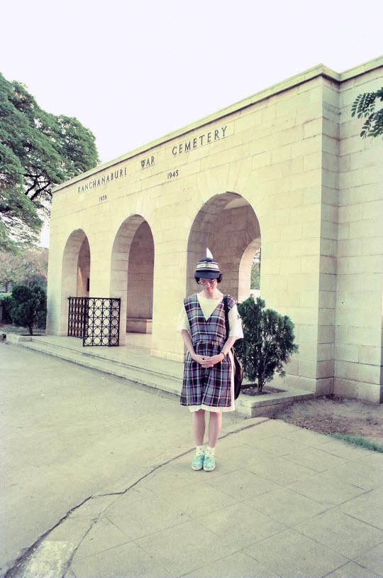 泰國 北碧府 戰俘公墓 (Kanchanaburi War Cemetery)