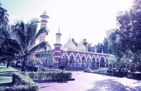 馬來西亞吉隆坡 Masjid Jamek (占米清真寺)