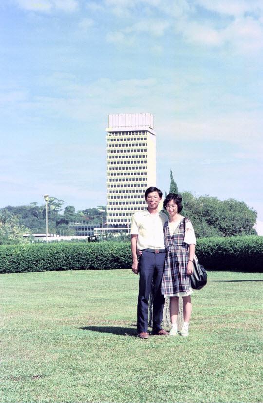 馬來西亞吉隆坡湖濱公園 (Lake Gardens) 國會大廈