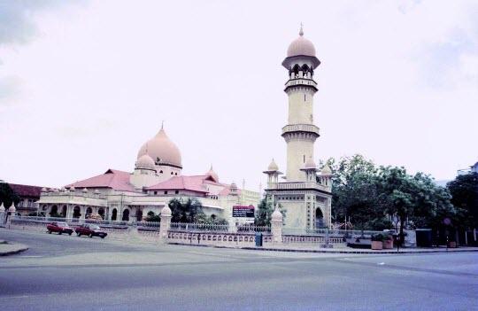 馬來西亞檳城島 Kapitan Kling 清真寺