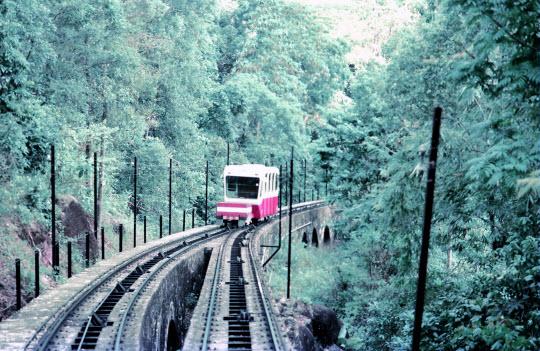 馬來西亞檳城島 乘纜車登上升旗山