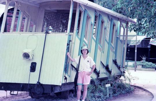 馬來西亞檳城島升旗山 (檳城山) 舊纜車