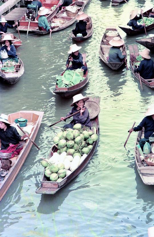 泰國彿統府Klong Damnoen saduak 水上市場