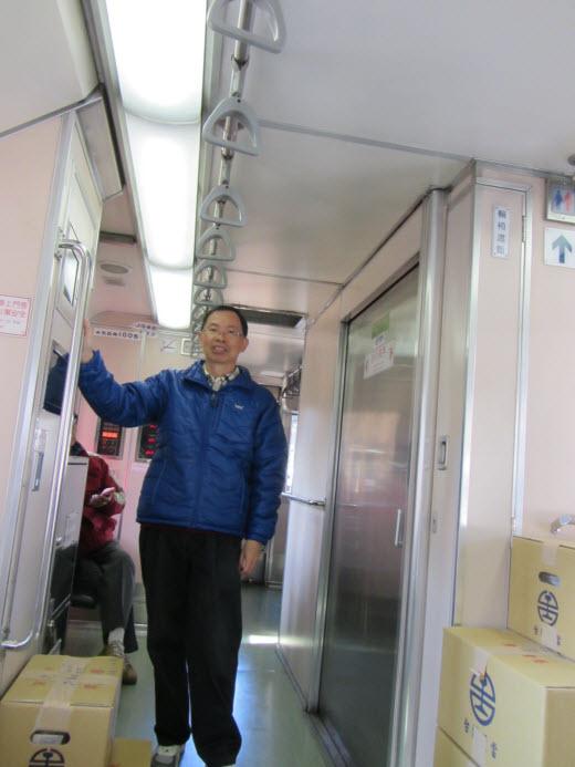 台中火車站乘火車往集集線