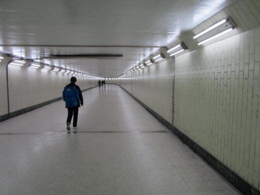 台中火車站人行隧道