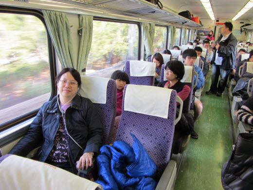 台中乘火車往台南
