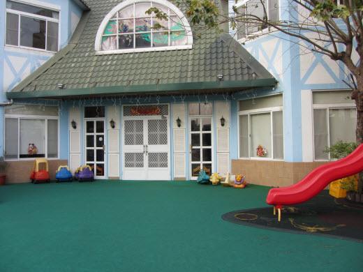 台南童話式佈置的傑仕堡幼兒園